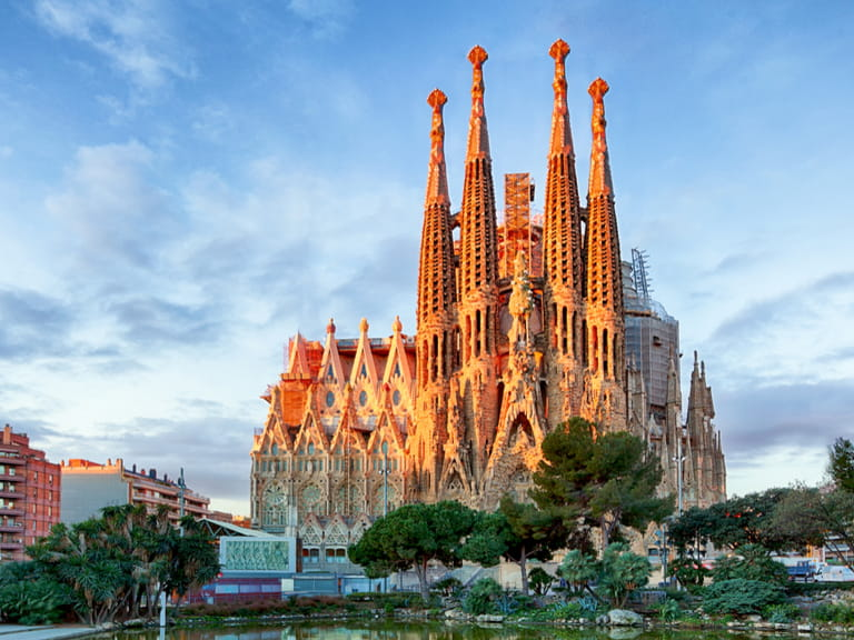 La Sagrada de Familia,  Barcelona,  Spain