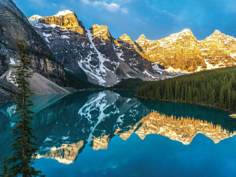 Moraine Lake in Banff National Park, Canada